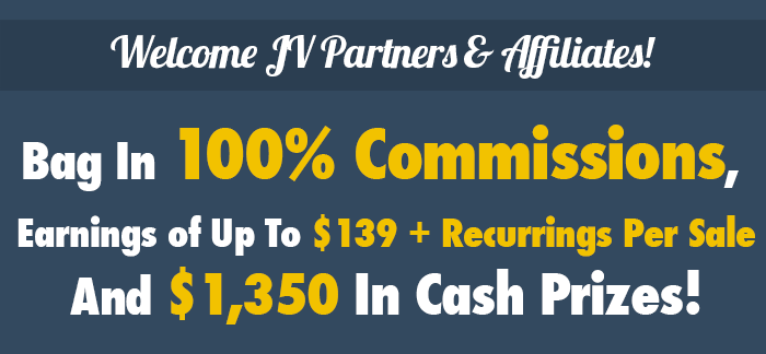 Welcome JV Partners & Affiliates