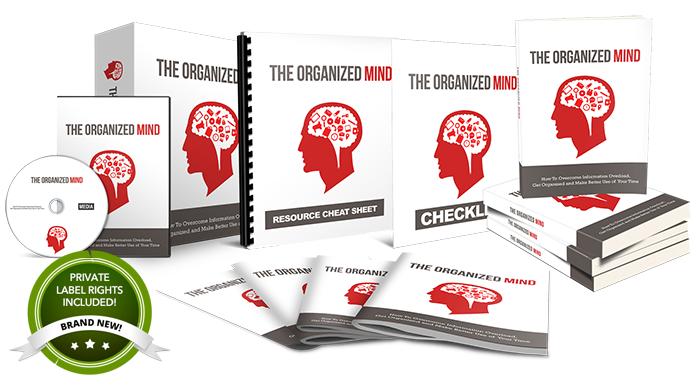 the organized mind plr