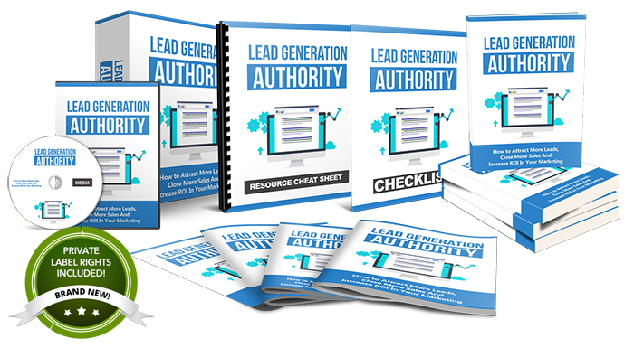 lead generation authority plr