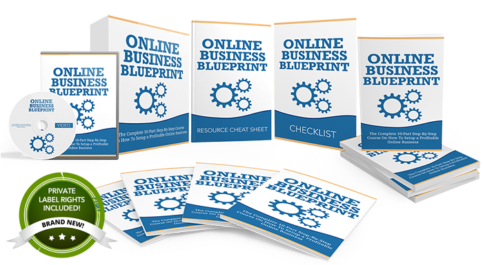 Brand new plr special offer online business blueprint a completey new done for you product ready to resell malvernweather Image collections