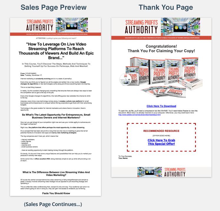 salespage