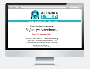 Affiliate Authority PLR Download