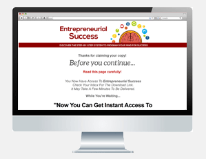 Entrepreneurial Success Download