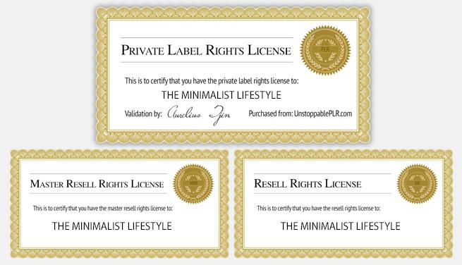 licenses