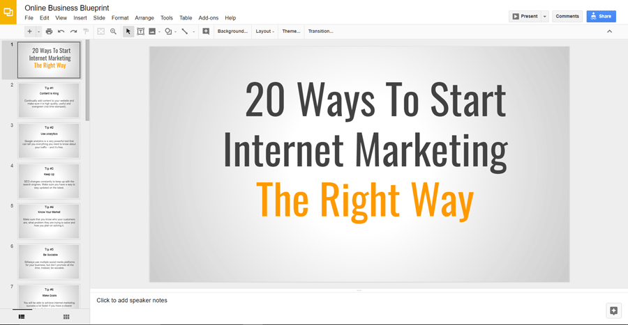 Wait dont go yet online business blueprint share or present this ready made keynote presentation malvernweather Image collections