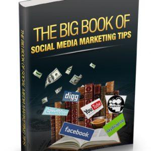 014 – The Big Book Of Social Media Marketing Tips PLR