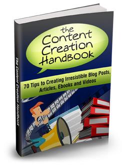 024 – The Content Creation Handbook PLR