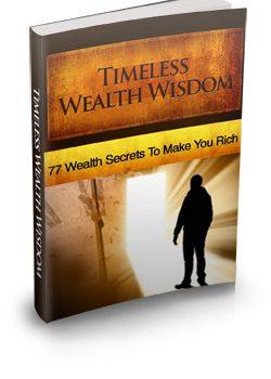 010 – Timeless Wealth Wisdom PLR