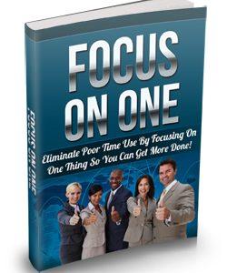 016 – Focus On One PLR