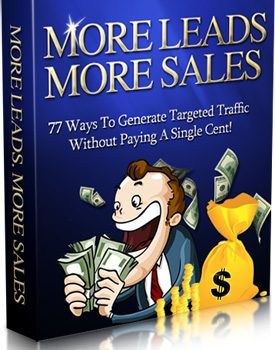 007 – More Leads More Sales PLR