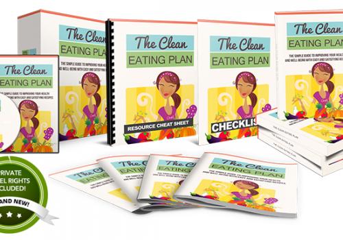 058 – The Clean Eating Plan PLR