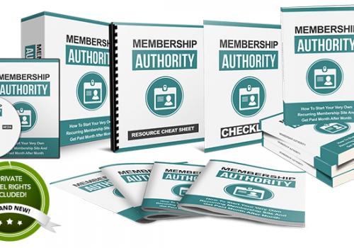 061 – Membership Authority PLR