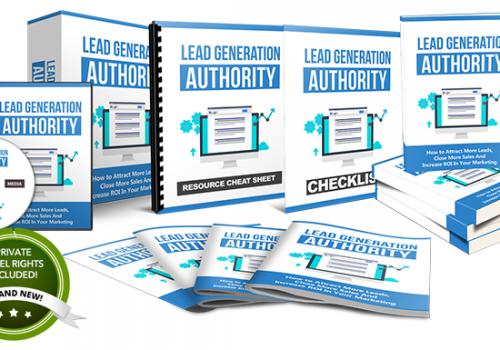 065 – Lead Generation Authority PLR