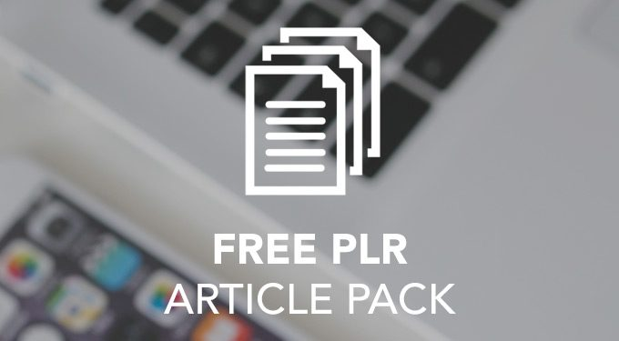Freebie: 10 PLR Articles Pack – Online Business Topic