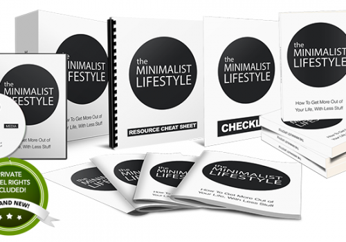 076 – The Minimalist Lifestyle PLR