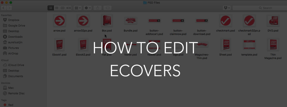 How To Edit The Ecovers Inside An UnstoppablePLR PLR Package (Smart ECovers Version)