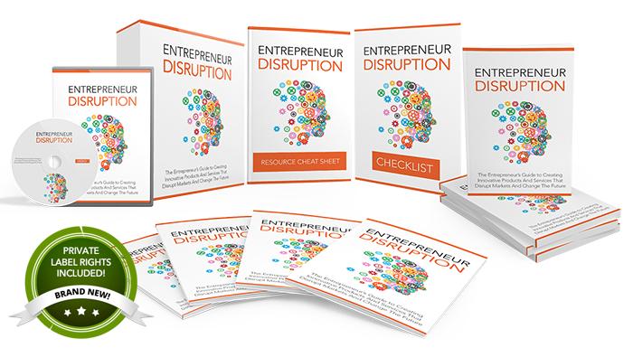 081 – Entrepreneur Disruption PLR