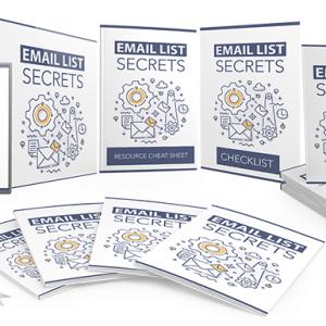 082 – Email List Secrets PLR