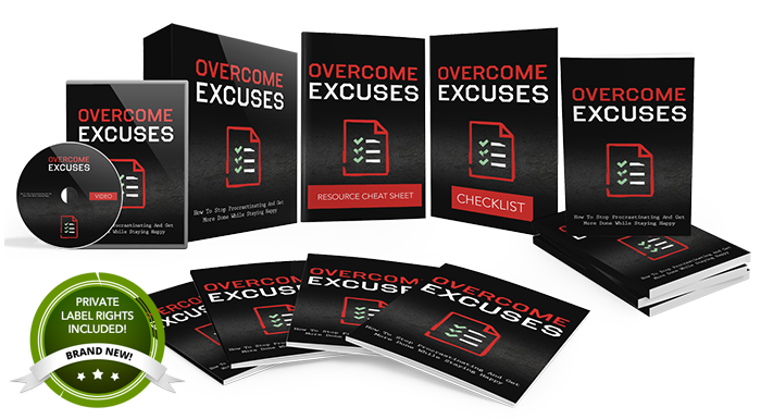 086 – Overcome Excuses PLR