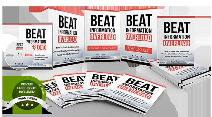 099 – Beat Information Overload PLR